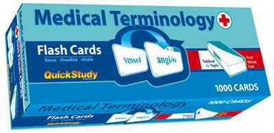 Medical Terminology Flash Cards By Barcharts, Inc. (COR)